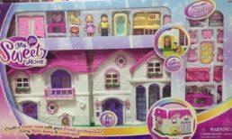 Замок для кукол с аксессуарами, свет звук, 16338C Домики для кукол