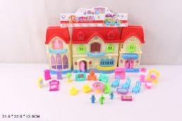 Кукольный домик с мебелью, Roomies, № 16361