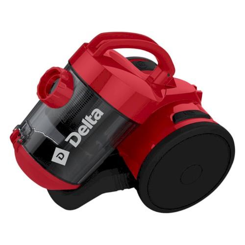 Пылесос DELTA DL-0829 черный с красным Пылесосы
