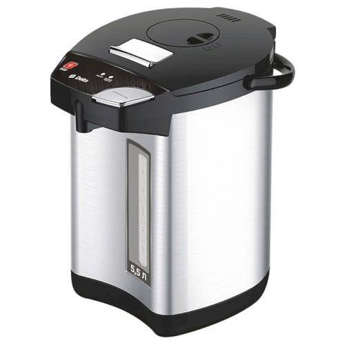 Чайник-термос 900Вт, 5.5 л DL-3039, нержав. сталь