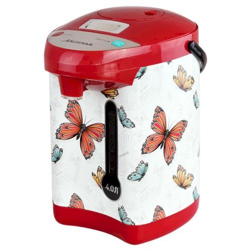 Чайник-термос, 800 Вт, 4 л, КС-1800, Бабочки