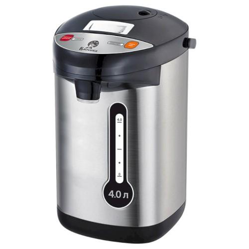 Чайник-термос 800Вт 4 л ВА-5008 нержавеющая сталь