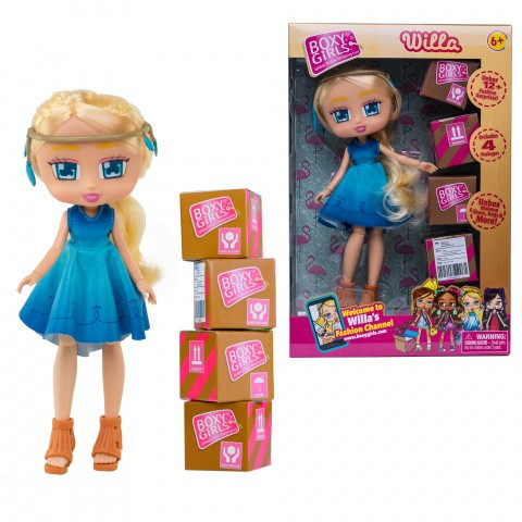 Кукла 1TOY Boxy Girls Willa 04072-AM19