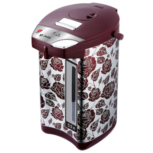 Чайник-термос 900 Вт, 5,5 л DЕLTA DL-3037 Розы Чайник-термос