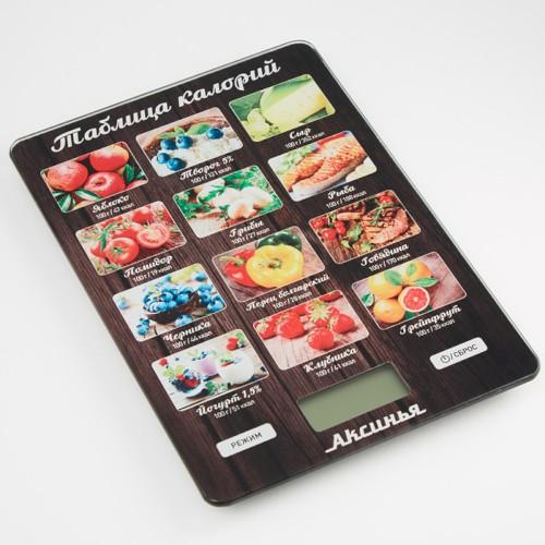 Весы 5 кг АКСИНЬЯ КС-6515 Таблица калорий