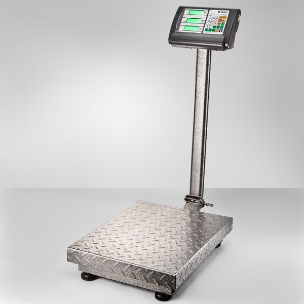 Весы до 300кг электронные торговые платформенные напольные Delta ТВП-300С