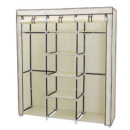Шкаф складной каркасный с чехлом, 130х45х175 см