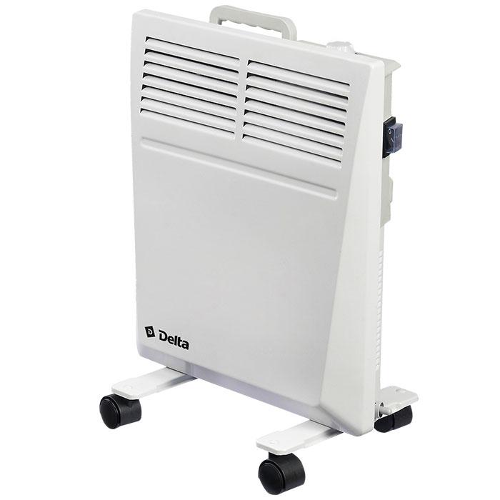 Обогреватель конвекторный электрический 800 Вт DELTA D-3003 с влагозащитой