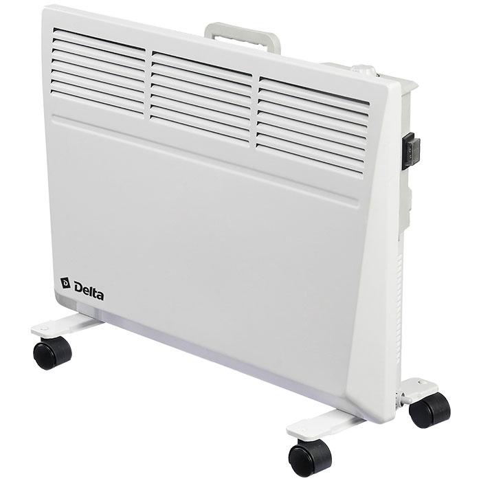 Обогреватель конвекторный электрический 1200 Вт DELTA D-3004 с влагозащитой