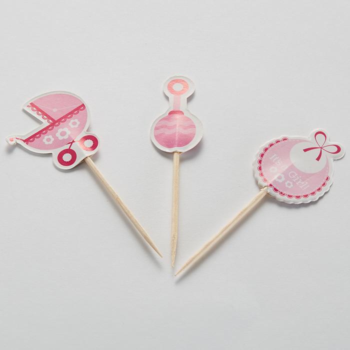 "Набор декора для торта BE-0443 ""Для девочки"""