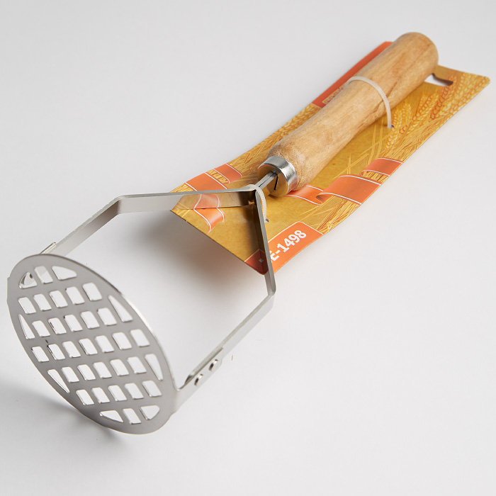 """Пресс для картофеля """"Ностальжи"""" с деревянной ручкой BE-1498"""