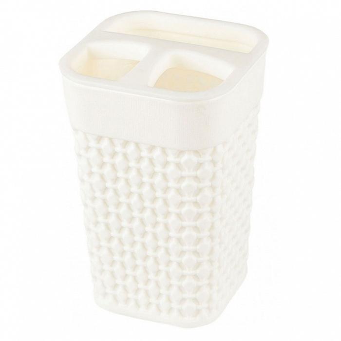 Подставка для зубных щеток OSLO РТ1344МЛ-36 молочный