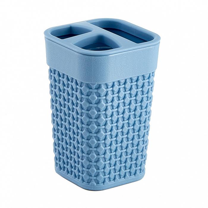 Подставка для зубных щеток OSLO РТ1344ТГ-36 туманно-голубая