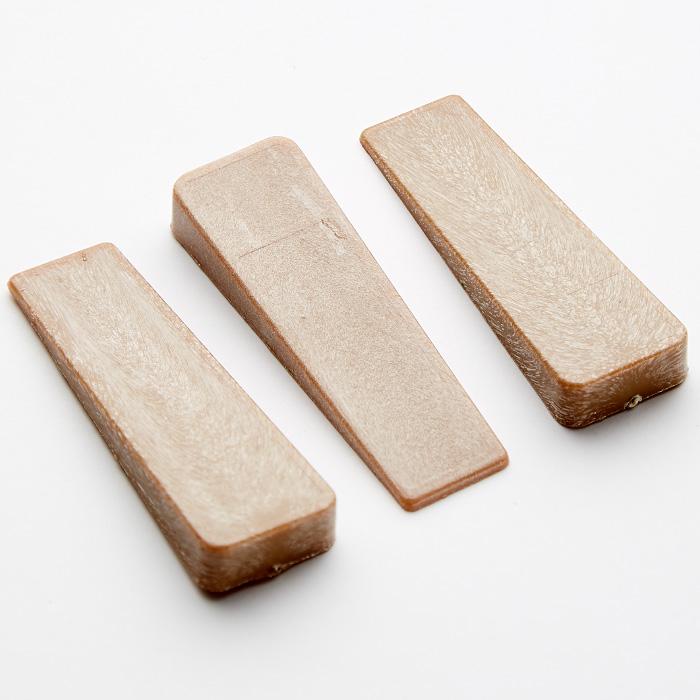Набор фиксаторов для дверей 3 штуки 8х7,5см ТД9-001 коричневый