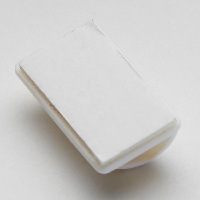 Набор фиксаторов для кабеля 8 штук 5,5х6см ТД9-004 белый