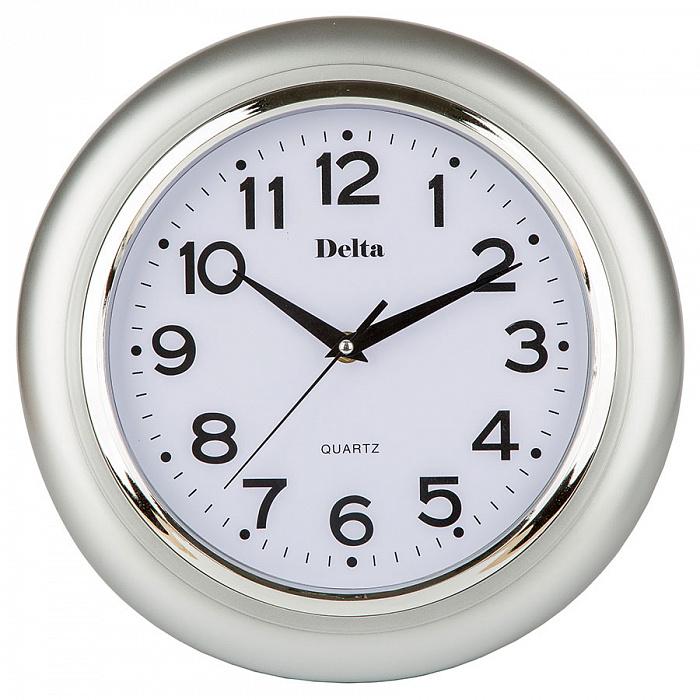 Часы настенные 29 см DT-0092 серебро