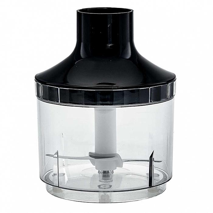 Блендер погружной 600 Вт DELTA DL-7049B с измельчителем, венчиком, стаканом, черный