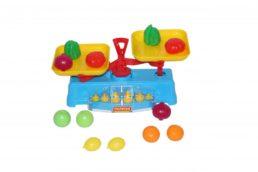 Игровые Весы с продуктами (12шт), в сеточке 53787