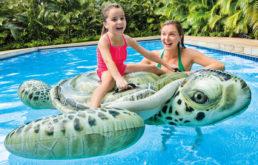 Надувной плотик Черепаха, 191х170 см Intex, 57555