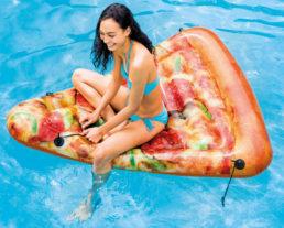 Плотик надувной Пицца, 58752