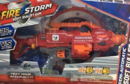 Пистолет бластер Fire Storm, 20 пуль, 7055