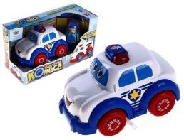 Машина полицейская Веселые колёса свет звук 7106B
