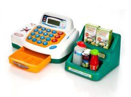 Интерактивная касса Cash Register, № 7254