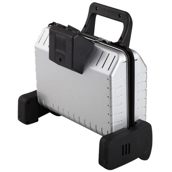 Пресс-гриль электр. DELTA LUX DL-050S серебряный