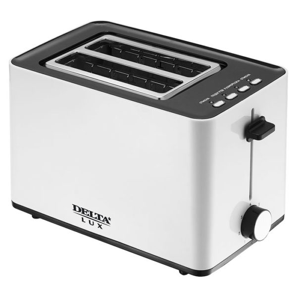 Тостер 850 Вт, ненагревающийся корпус, LUX DL-072