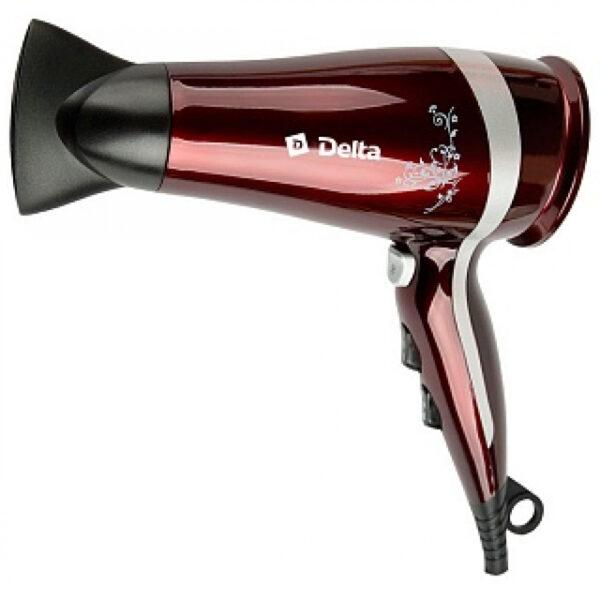 Фен профессиональный DELTA DL-0917 бордовый, 2300 Вт