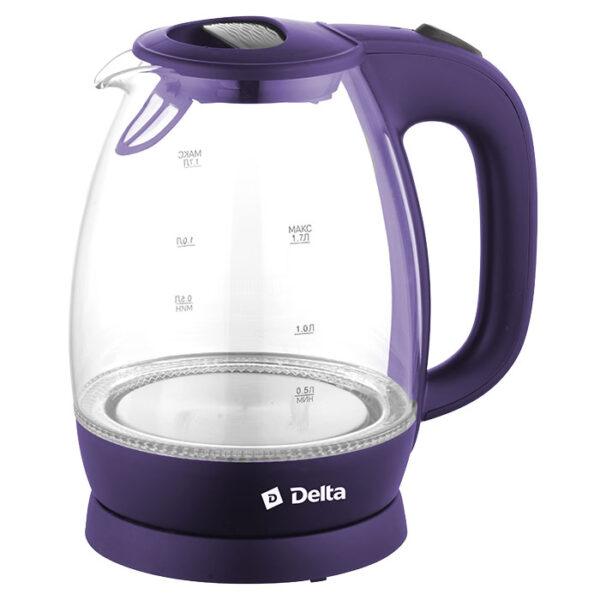 Чайник электр., 2200 Вт, 1.7 л, DL-1203, 3 цвета