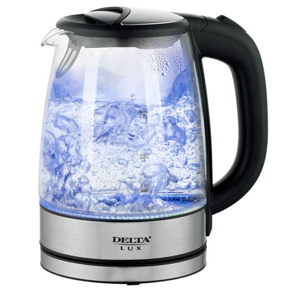 Чайник электрический 2200 Вт 1,7л DL-1204B черный