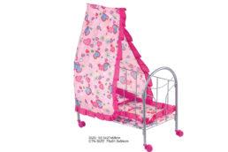 Кукольная кроватка с навесом, № FL989-4