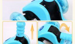 Самокат со складной ручкой Disney Frozen, JP-VG-03M+Z Самокаты