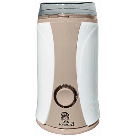 Кофемолка электрическая Василиса K1-160, 160 Вт, 65 г, белая с бежевым