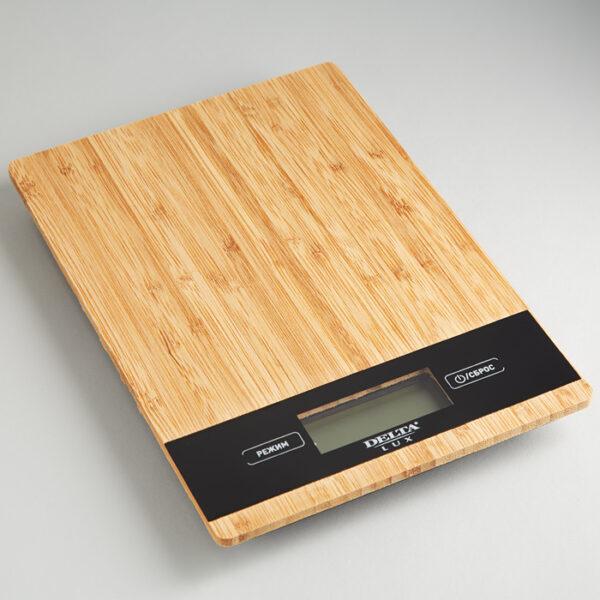 Весы из натурального бамбука, до 5кг, LUX KCE-60