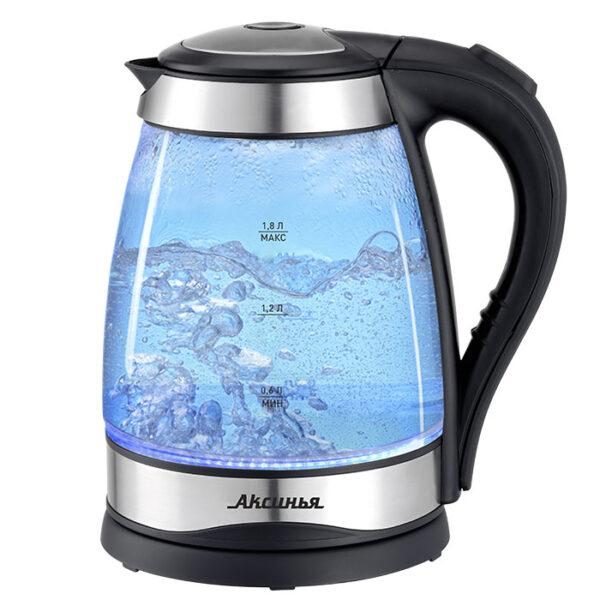 Чайник электрический 2200 Вт, 1,8л КС-1003 черный