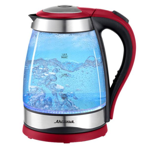 Чайник эл., 2200 Вт 1,8л КС-1004 черный с красным