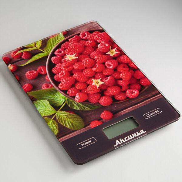Весы Сочная малина до 5кг, LCD дисплей, КС-6502