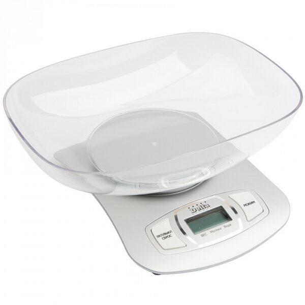 Весы с чашей, до 5кг, LCD дисплей DELTA КСЕ-09-31