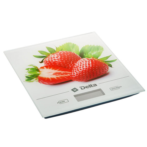 Весы Клубника, до 5кг, LCD дисплей, DELTA КСЕ-29