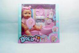 Кукла пупс Doll Toys, пьет, писает, № LD9810A-1