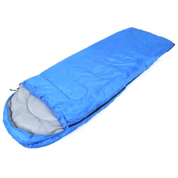 Multifuntional-Outdoor-Thermal-Sleeping-Bag-Envelope-Hooded-Travel-Camping-Keep-Warm-Water-Resistant-Sleeping-Bags-Lazy