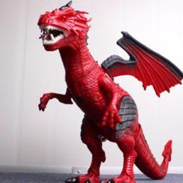 Красный дракон Dragon (свет звук движение) RS6153