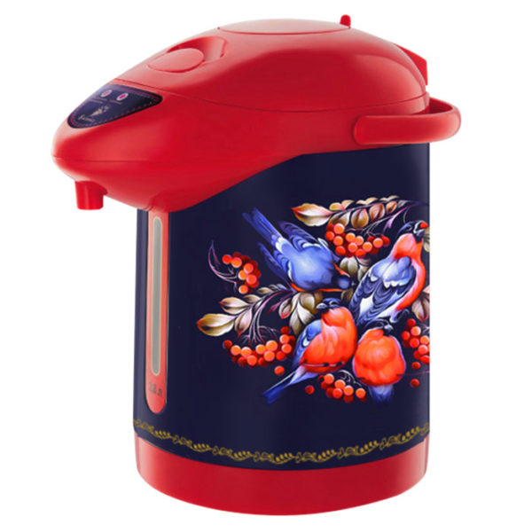 Чайник-термос 2,8л ВА-5006, Снегири в рябине