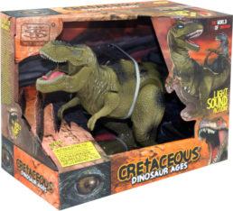 Игрушечный тиранозавр Cretaceous свет звук WS5316 Животные на радиоуправлении